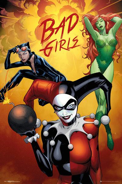 Plakat DC Comics - Badgirls Group