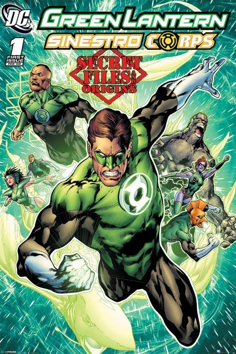 Plakat DC COMICS - green latern