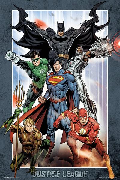 Plakat DC Comics - Justice League Group