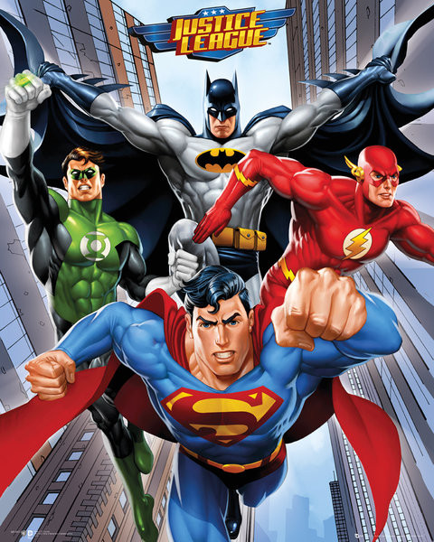 Plakat DC Comics - Rise