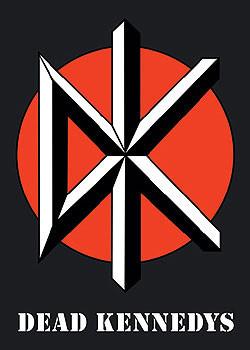 Plakat Dead Kennedys - logo