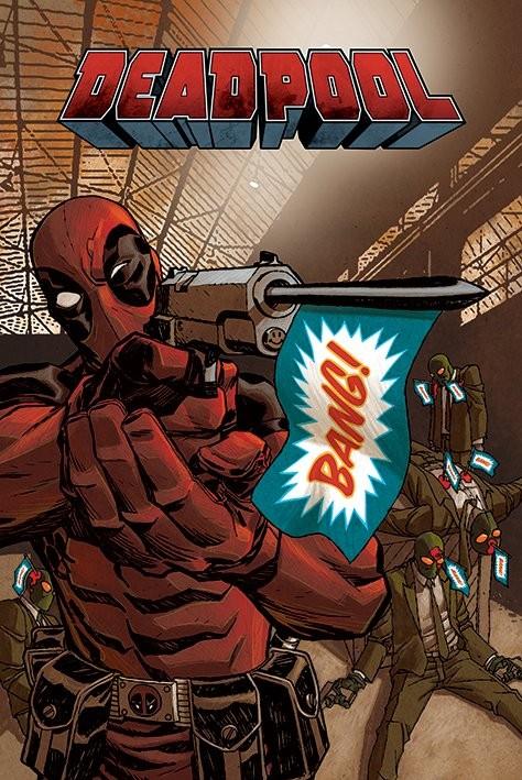 Plakat Deadpool - Bang