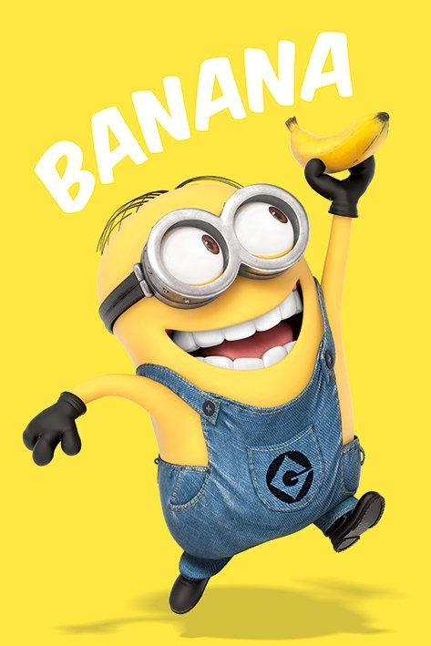 Plakat Despicable Me - Banana