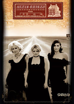 Plakat Dixie Chicks - home
