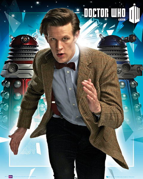 Plakat DOCTOR WHO - daleks