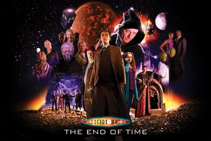 Plakat DOCTOR WHO - end of time
