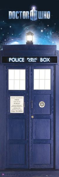 Plakat DOCTOR WHO - tardis