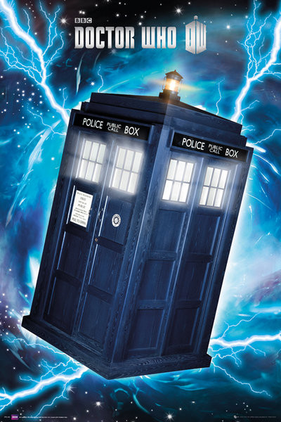 Plakat DOCTOR WHO - tardis