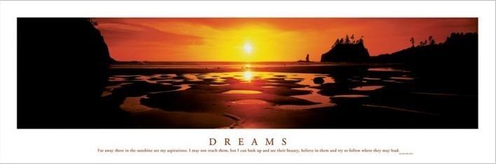 Plakat Dreams - Sunset