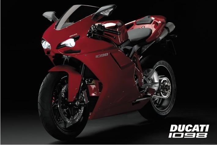Plakat Ducati - 1098
