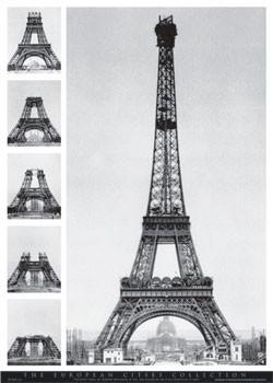 Plakat Eiffel tower - european