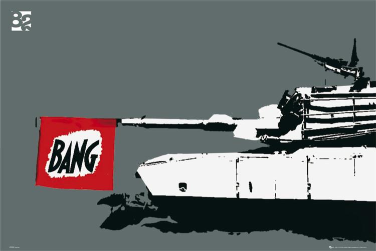 Plakat Eighty two tank