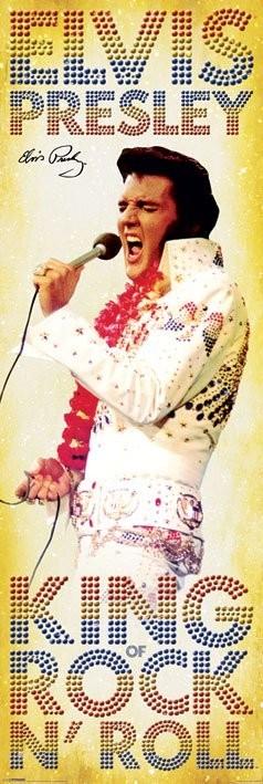 Plakat Elvis Presley - king of Rock