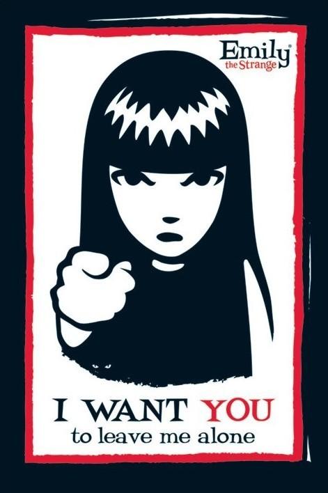 Plakat Emily the strange - i want you