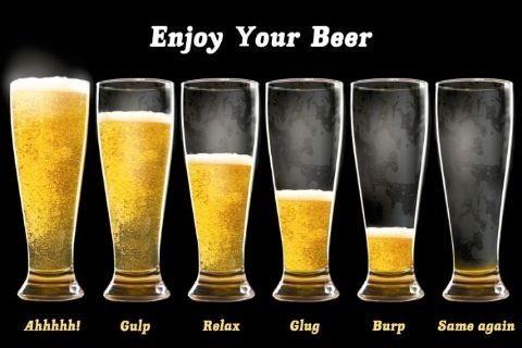 Plakat Enjouy your beer