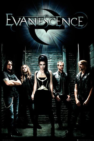 Plakat Evanescence - band