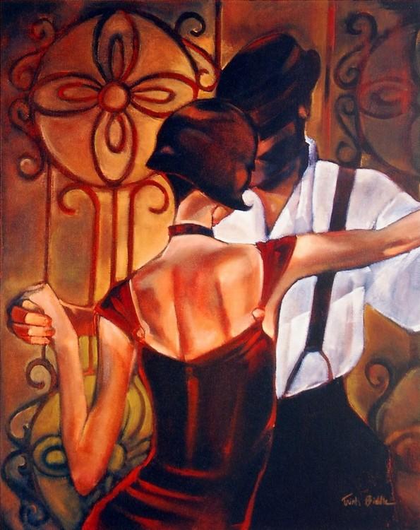 Reprodukcja Evening Tango