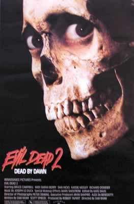 Plakat EVIL DEAD 2 - MARTWE ZLO II
