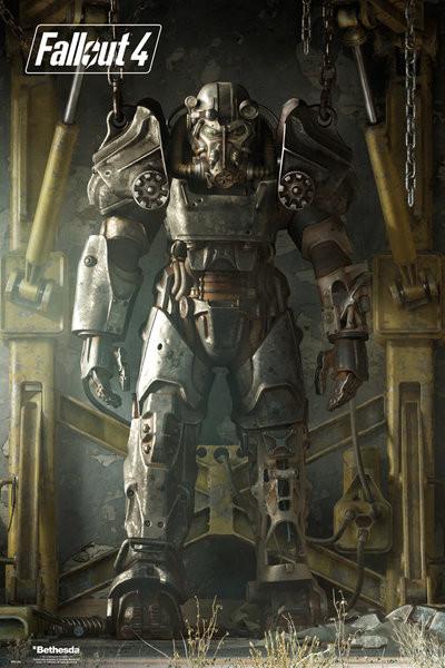 Plakat Fallout 4 – Key Art Poster