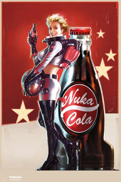 Plakat Fallout 4 – Nuka Cola