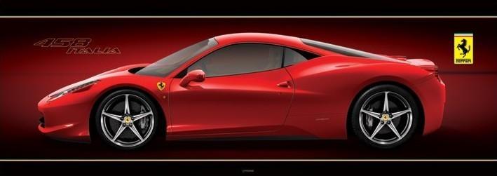 Plakat Ferrari - 458 italia