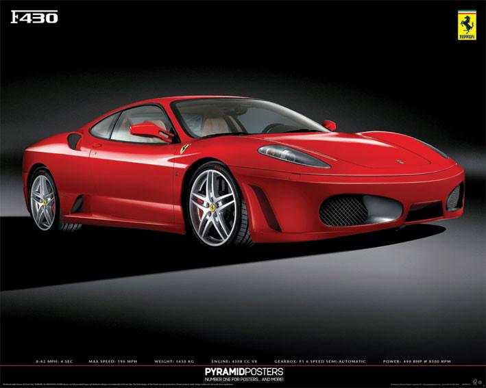 Plakat Ferrari F430
