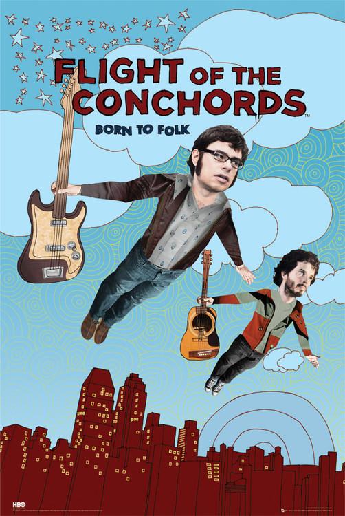 Plakat FLIGHT OF THE CONCHORDS - season 2