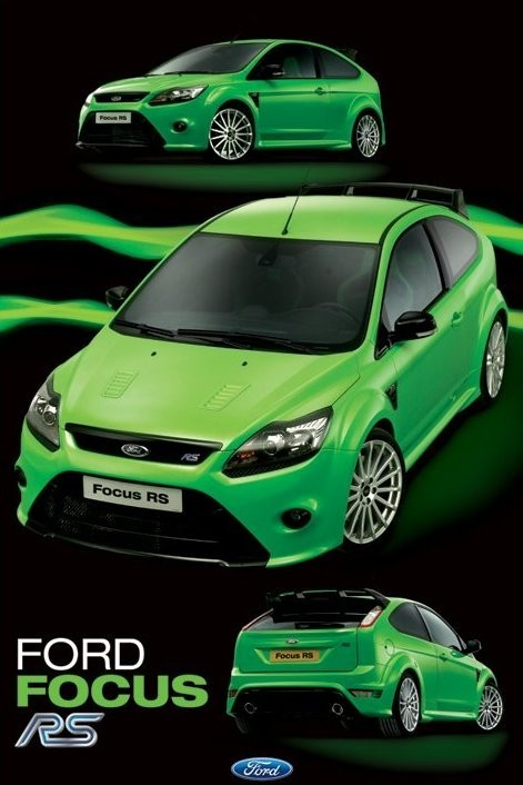 Plakat Ford Focus RS