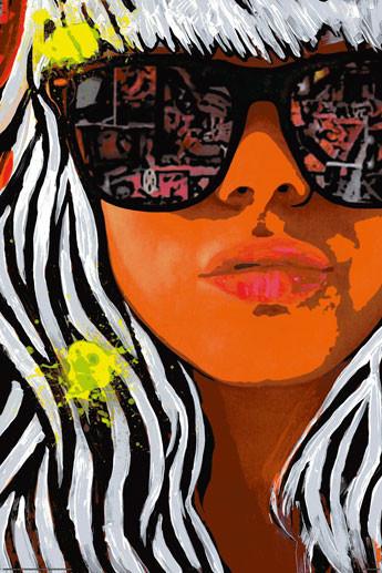 Plakat Frank E Hollywood Gaga