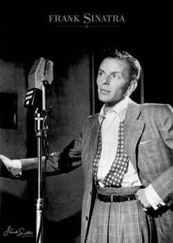 Plakat Frank Sinatra – young