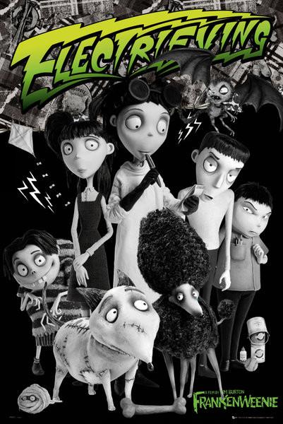 Plakat FRANKENWEENIE - cast