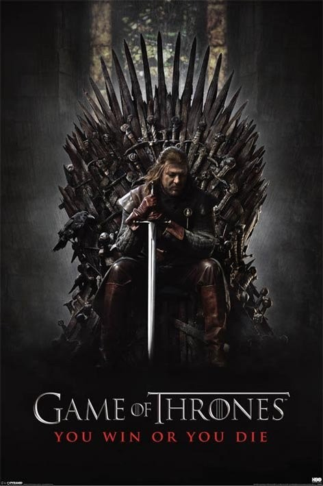 Plakat GAME OF THRONES - you win or you die