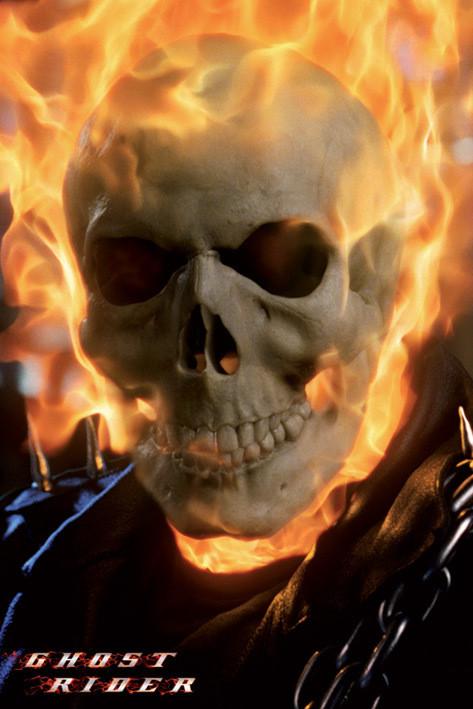 Plakat Ghost rider - skull
