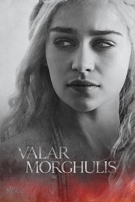 Plakat Gra o tron - Game of Thrones - Daenerys