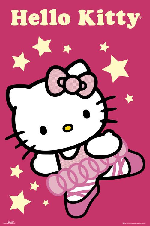 Plakat HELLO KITTY - ballerina