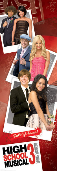 Plakat HIGH SCHOOL MUSICAL 3 - promo photos