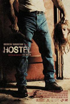 Plakat HOSTEL - head