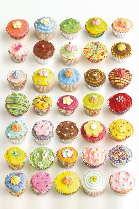 Plakat Howard Shooter - cupcakes