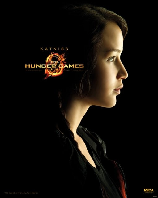 Plakat HUNGER GAMES - Katniss