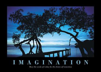 Plakat Imagination
