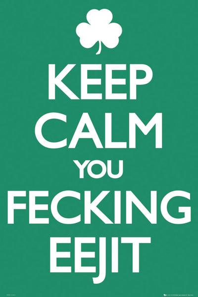 Plakat Ireland keep calm