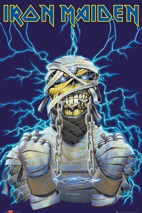 Plakat Iron Maiden - eddy
