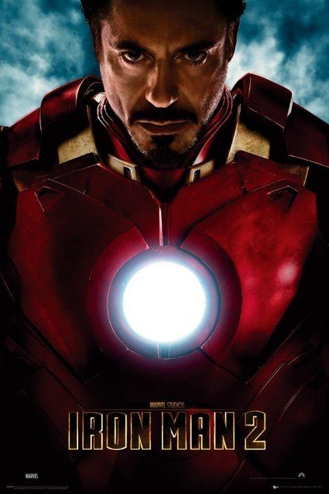 Plakat IRON MAN 2 - tony stark