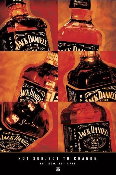 Plakat Jack Daniel's - not subject to change