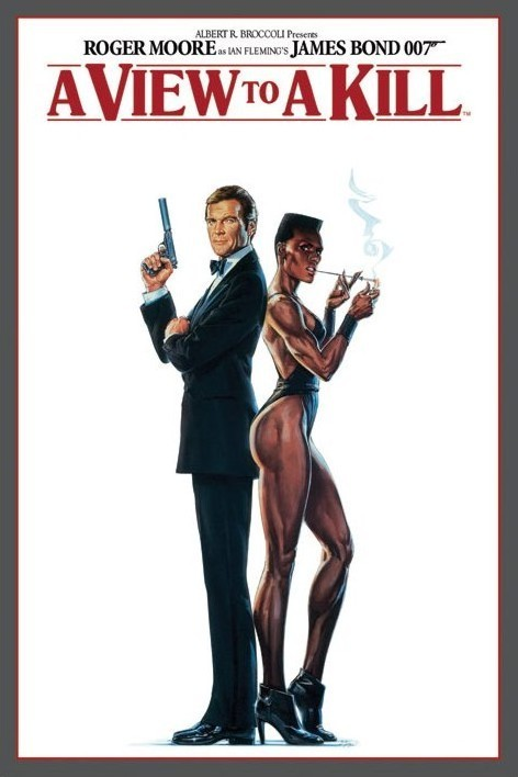 Plakat JAMES BOND 007 - a view to a kill