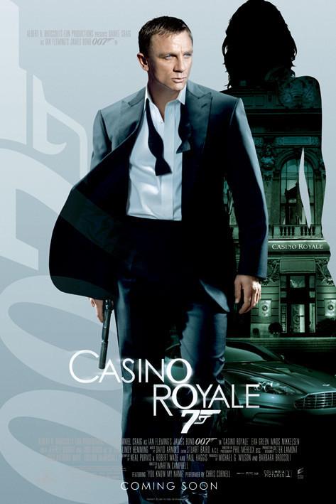 Plakat JAMES BOND 007 - casino royal empire