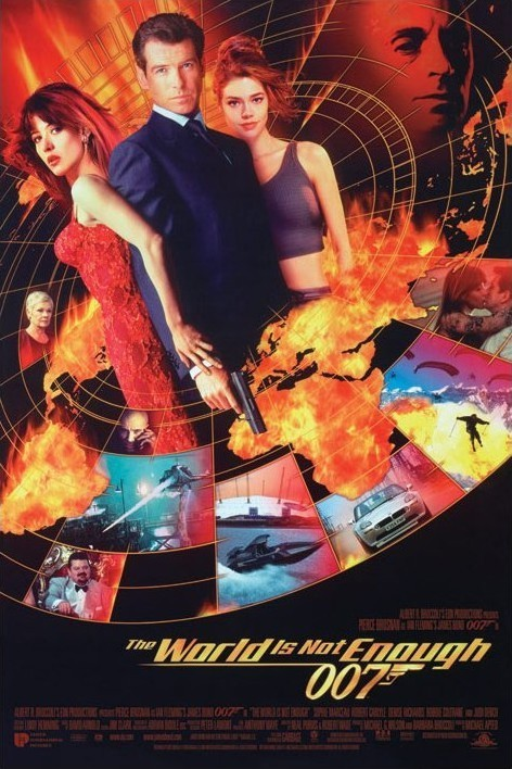 Plakat JAMES BOND 007 - the world is not enough