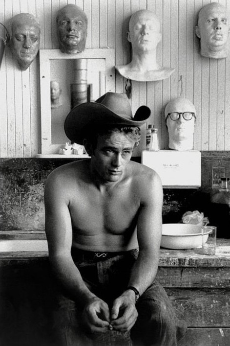 Plakat James Dean - topless