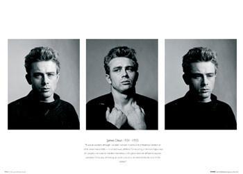 Plakat James Dean - Trio