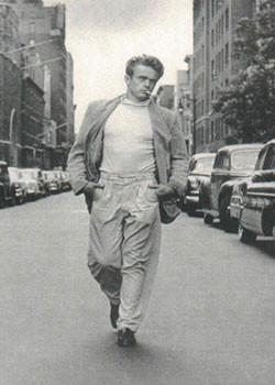 Plakat James Dean - Walking